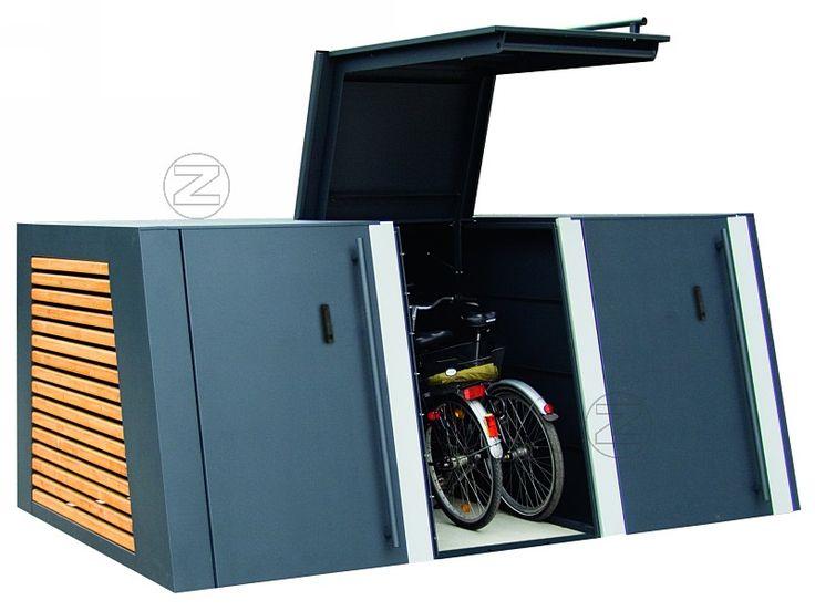 Fahrradgarage SAFESTORE - Fahrradüberdachungen & abschließbare Fahrradboxen bei ZIEGLER ÖSTERREICH – Ihr lokaler Partner zur Gestaltung individueller Außenanlagen.