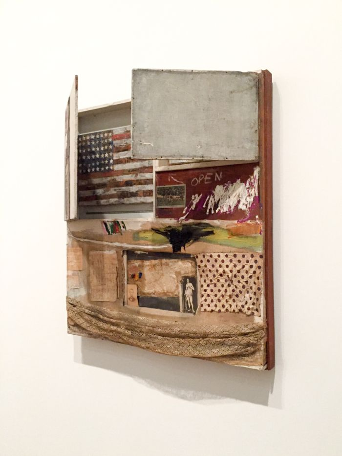 This show is like a starting point. Art movements in the second half of the 20th Century, seem to have sprung from ideas explored here, and each room posts it's own 'what if we…?&…