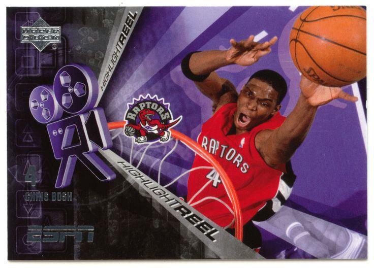 Chris Bosh # HR-20 - 2005-06 Upper Deck ESPN Basketball Highlight Reel