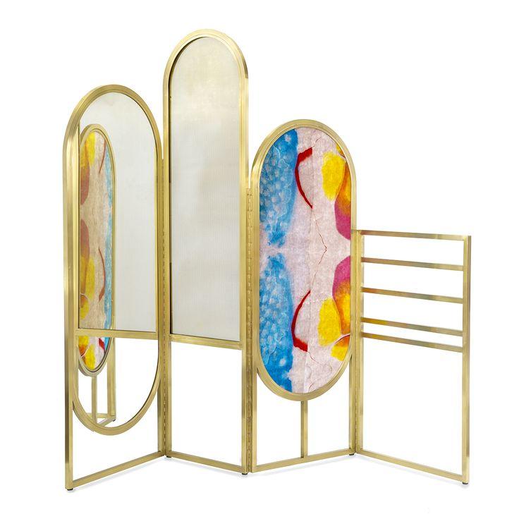 The Awaiting room divider by designer Giorgia Zanellato and artist Coralla Maiuri for Secondome gallery