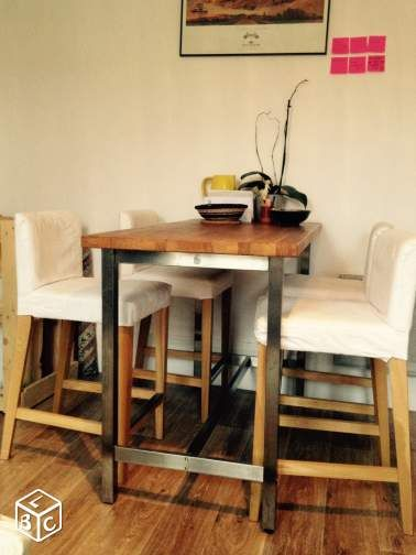 1000 id es sur le th me table haute ikea sur pinterest table de bar ikea b - Table de cuisine ikea ...