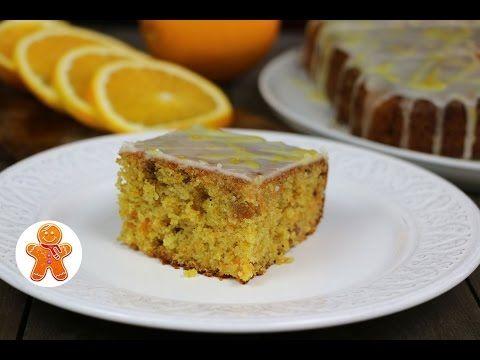 Pechemdoma.com     Морковный пирог с апельсиновой глазурью