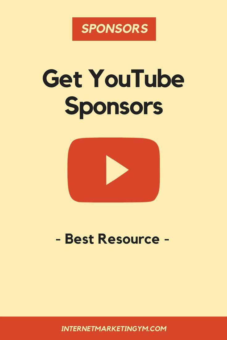 Find Sponsors For Youtube Videos Internet Marketing Gym Youtube Sponsorship Youtube Marketing Strategy Internet Marketing