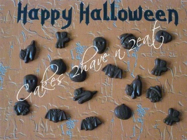 Halloween chocolates !