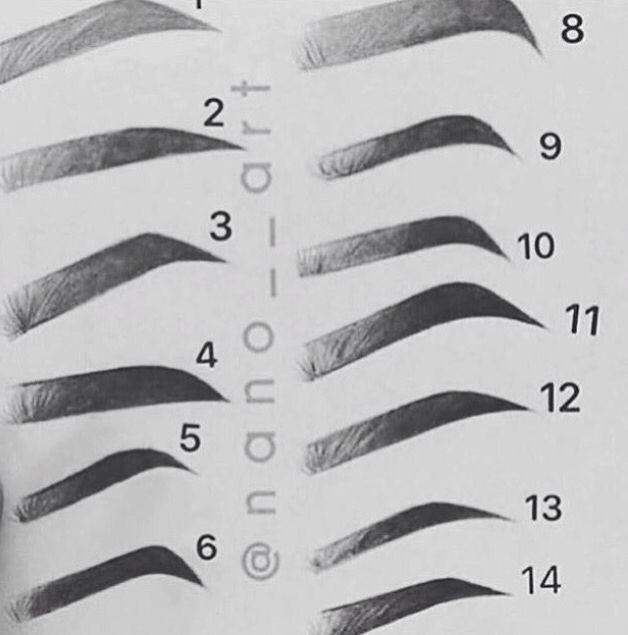 Which eyebrow do you like the most