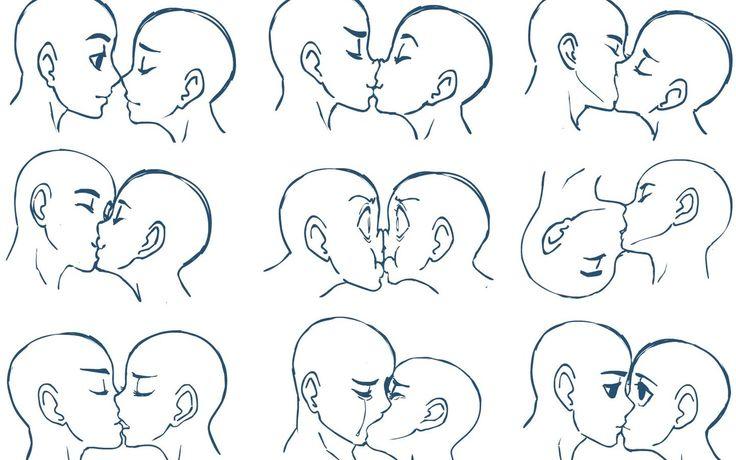cute anime kiss - Google Search