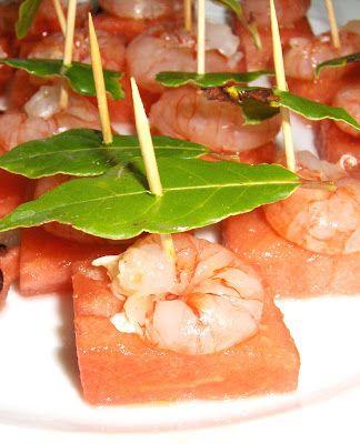 Caramelle non ne voglio più!: Gamberi e anguria