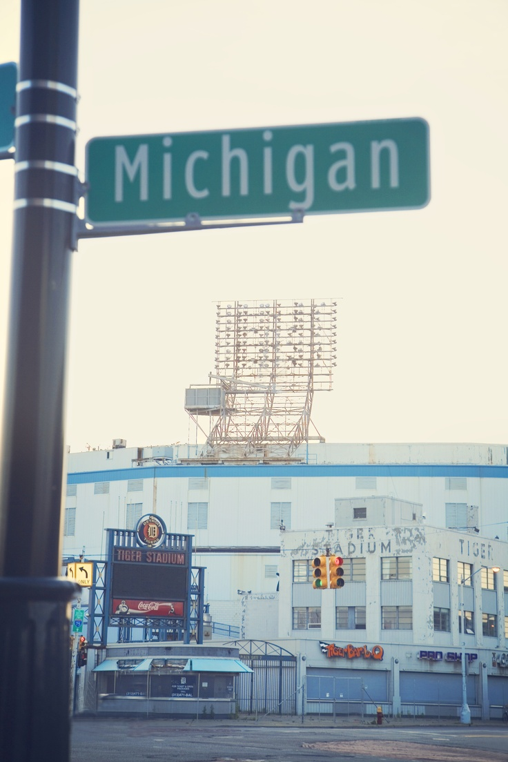 Former Tiger Stadium on Michigan Ave. in Detroit, MI, Photo by Debbie Sipes