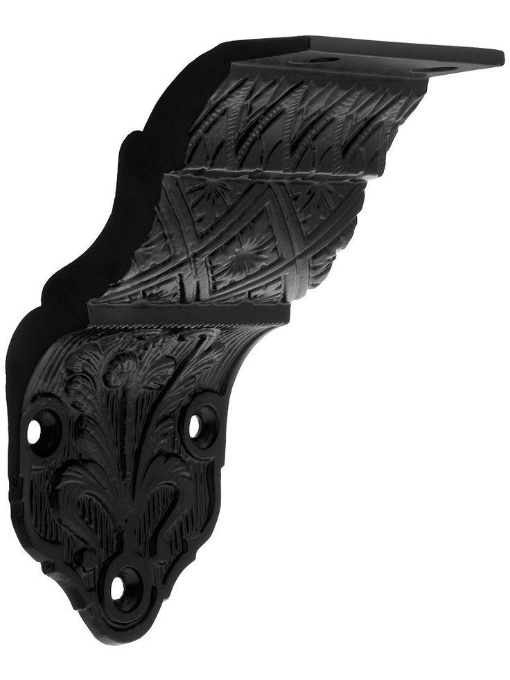 Ornate Victorian Cast Iron Handrail Bracket House Of