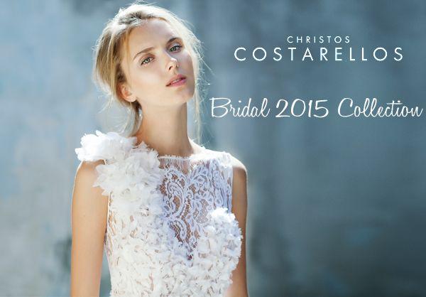 Christos Costarellos νυφικα 2015  See more on Love4Weddings  http://www.love4weddings.gr/christos-costarellos-bridal-2015/
