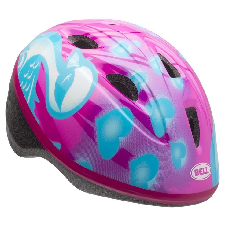 Bell Zoomer Downy Toddler Bike Helmet - Pink/Blue