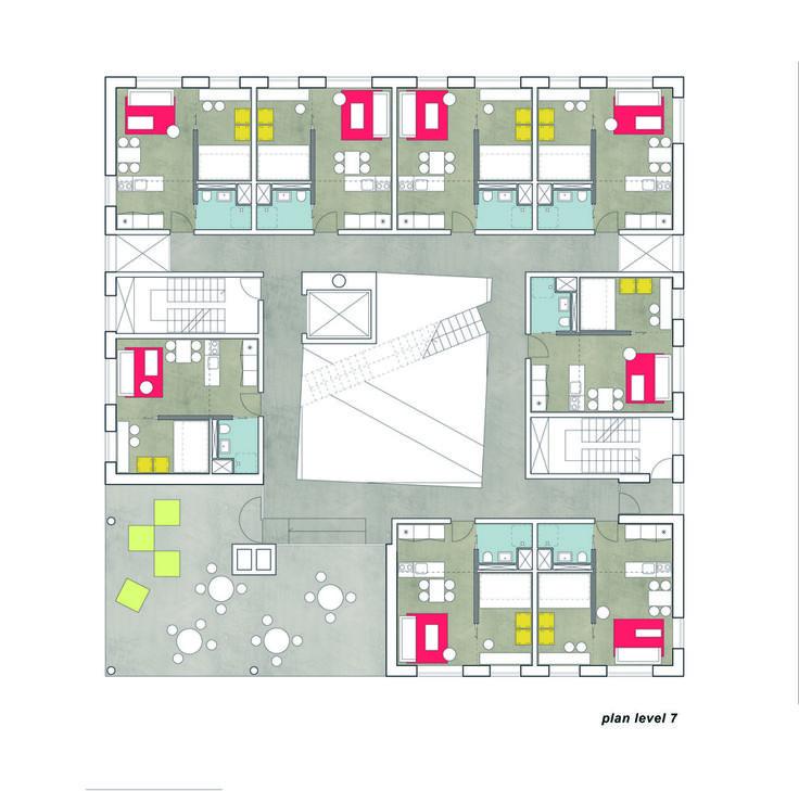 Galeria de Moradia Estudantil no Porto de Aarhus / CUBO Arkitekter + TERROIR - 12