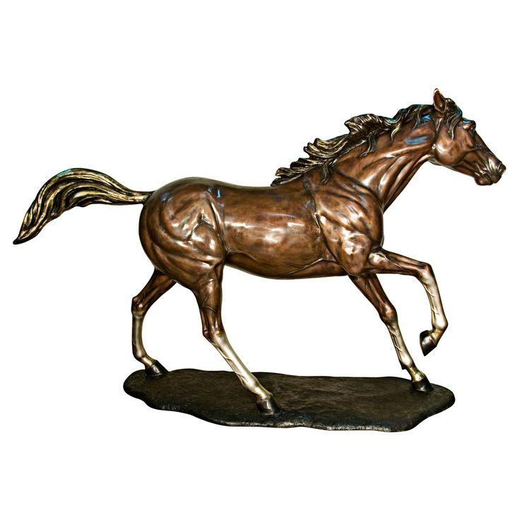 Design Toscano Galloping Steed Horse Garden Statue   from hayneedle.com