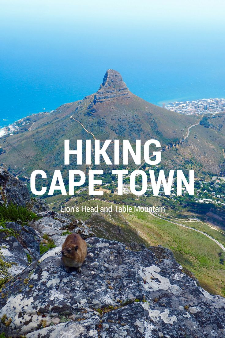 Cape Town's two best hikes, Lion's Head and Table Mountain, can be done in one day. Read how on While I'm Young travel and lifestyle blog.