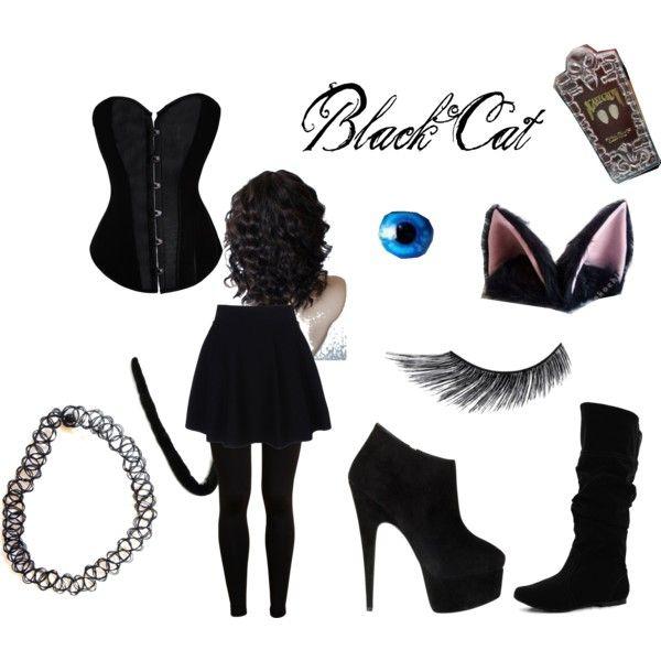 general idea of black cat costume - Cat Costume Ideas Halloween