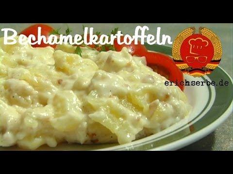 Bechamelkartoffeln (von: erichserbe.de) – Essen in der DDR: Koch- und Backrezept…