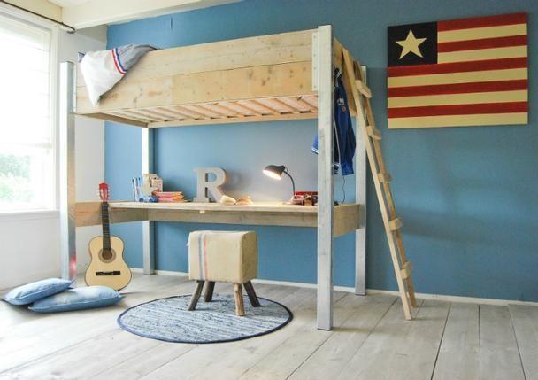 Ikea Kleiderschrank Konfigurator ~ Kinder Hochbett mit Schreibtisch Bauholz  kategorien  Möbelhaus