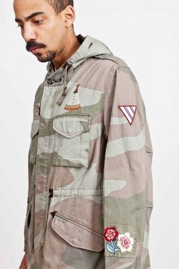Neighborhood M-51 Jacket Camouflage