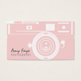 74 best business cards for women images on pinterest business card camera business cards photography colourmoves Gallery