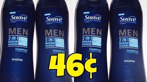 Suave Men's Hair Care, Only 46¢ at CVS! http://heresyoursavings.com/suave-mens-hair-care-46%c2%a2-cvs/