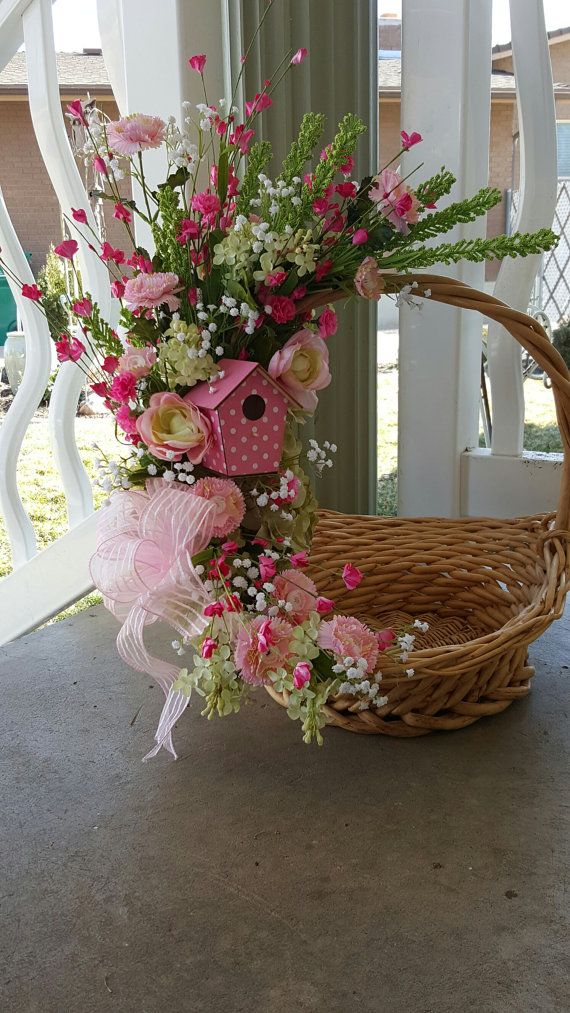 Hey, I found this really awesome Etsy listing at https://www.etsy.com/listing/269848377/gorgeous-spring-floral-basket