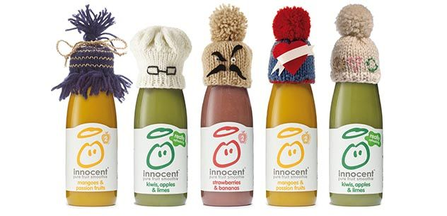 The big knit, The Big Knit is a joint campaign between Age UK and innocent drinks to help vulnerable older people. You knit the hats, innocent drinks wear them and 25p of every drink sold will go to Age UK.