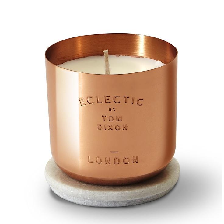 Eclectic Sented Candle #copper #cuivre #decoration #decor #home #casa #maison #cobre