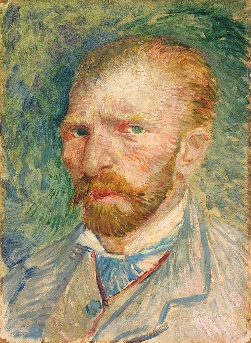 Vincent van Gogh.  (Zundert 1853 - Auvers-sur- Oise 1890).  Selfportrait . © Collection Kröller-Müller Museum, Otterlo, the  Netherlands  www.krollermuller.nl