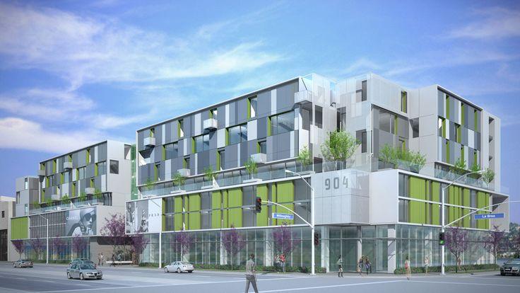 904 La Brea Mixed Use - Shubin + Donaldson Architects