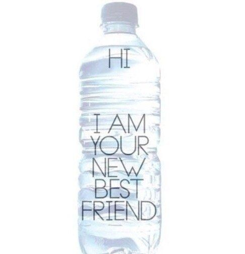 Be Fit Motivation: Plastic Bottle, My Best Friends, Bestfriends, Drinks More Water, Weights Loss, Health Fit, New Friends, Diet Coke, Drinks Water