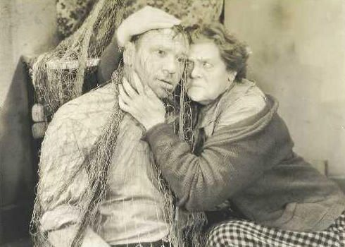 Marie Dressler (with Wallace Beery) in Min and Bill...what a hoot!