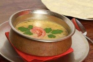 Supa de fasole verde cu usturoi