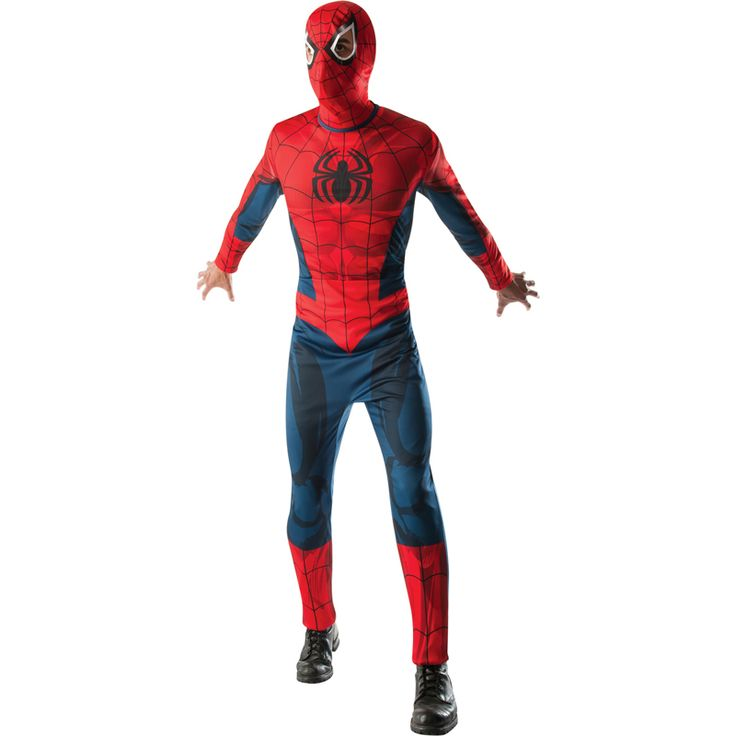 Déguisement Spiderman Ultimate - Marvel® #déguisementsadultes #costumespouradultes #nouveauté2016