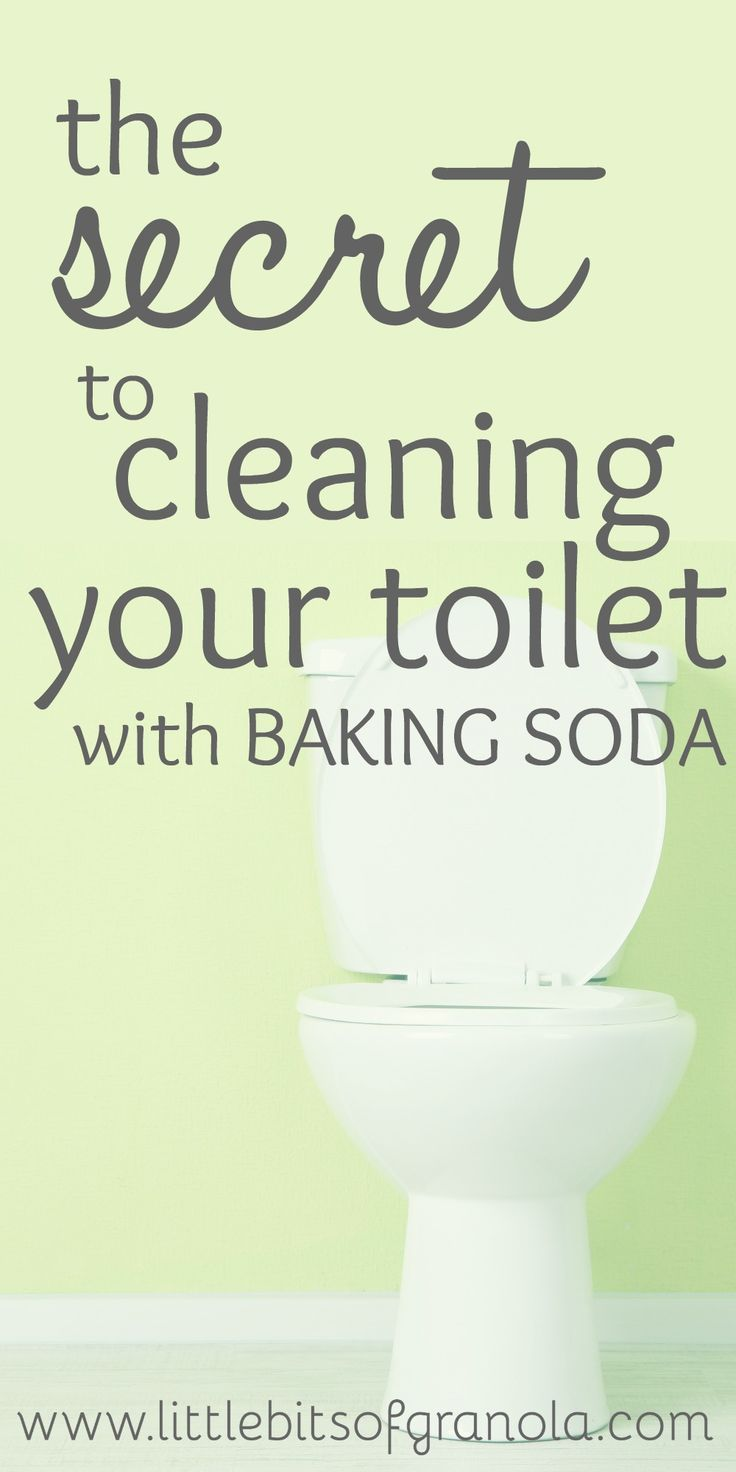 how to clean toilet tank with baking soda
