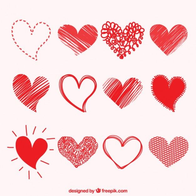 Vintage hearts background Vector | Free Download