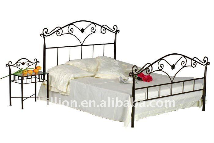 Novo design camas de ferro forjado