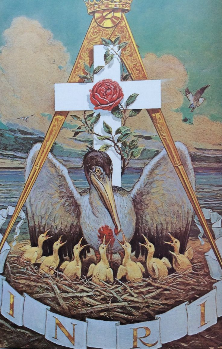 "The Jewel of the Rose Croix where ""Rose"" is an anagram for ""Eros"" or Love Augustus Knapp from ""The Secret Teachings of All Ages"" by Manly P"