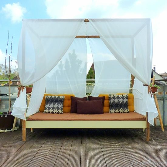 Outside Beds best 25+ outside canopy ideas on pinterest | outdoor deck lighting