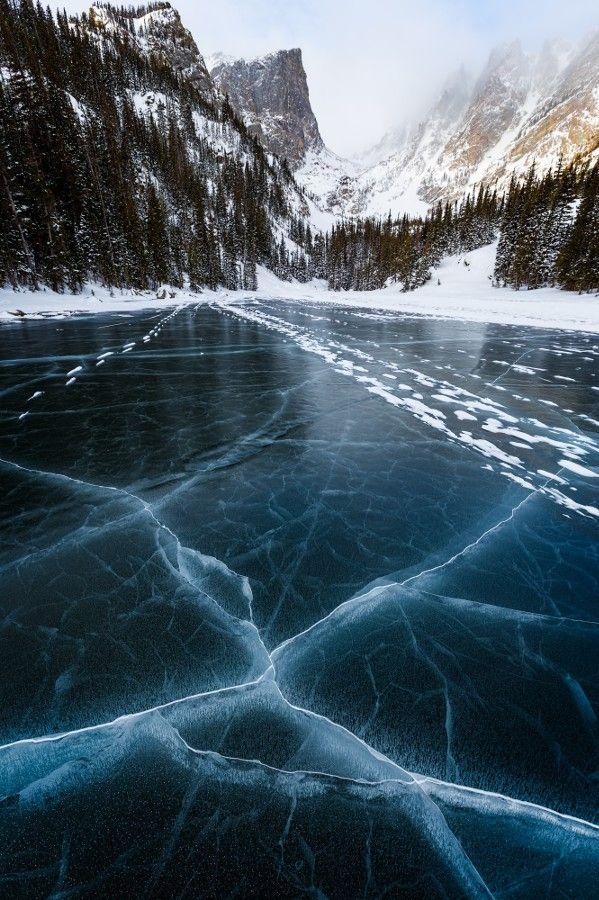 #Cracks in der #Ice von Carl Finocchiaro #wanderlust
