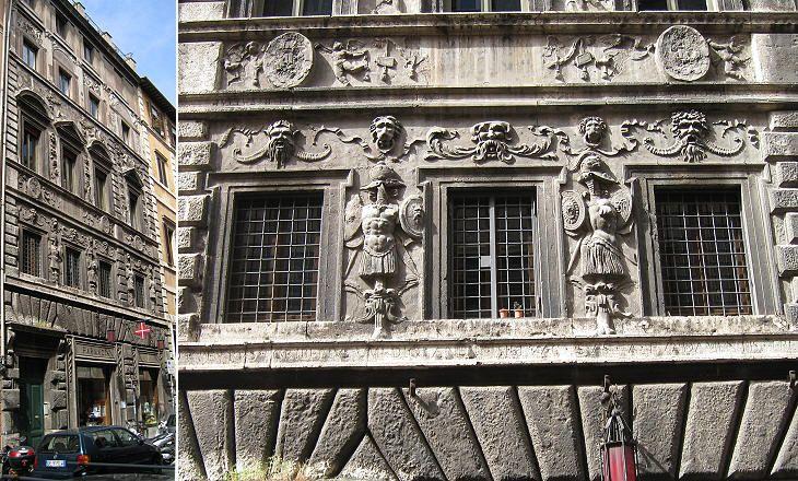 Palazzo dei pupazzi via di banchi vecchi abitazione di for Vecchi piani di casa artigiano