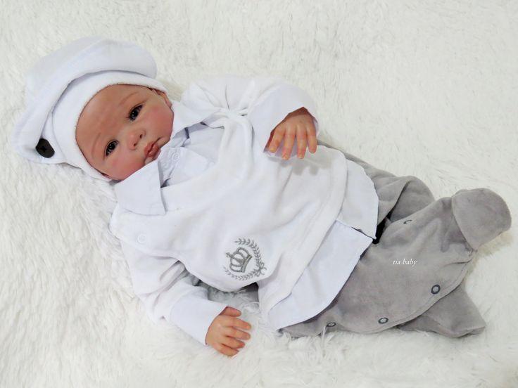 Saída De Maternidade Principe Cinza