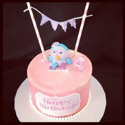 Sweet Hootabelle Cake.  Cake by babycakes