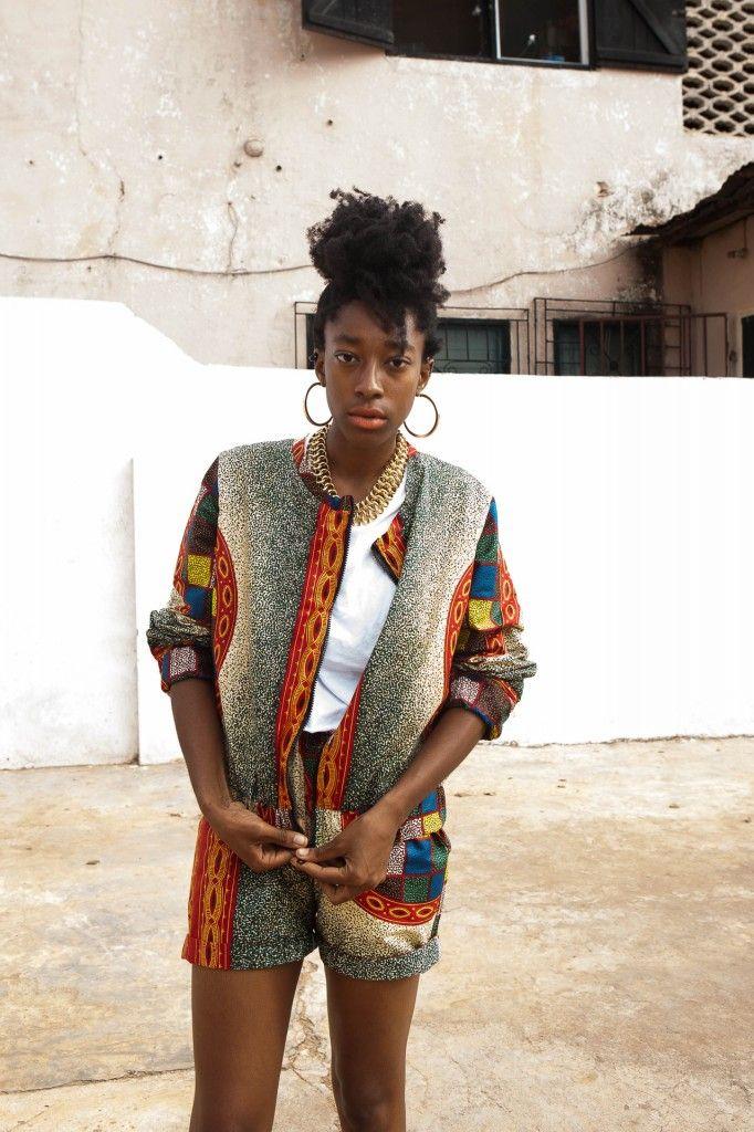Ghana Fashion x Street Photography from emerging Label YEVU