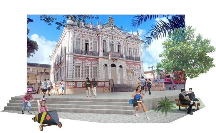 1º Lugar no Concurso para revitalização do centro histórico de Ilhéus /BA