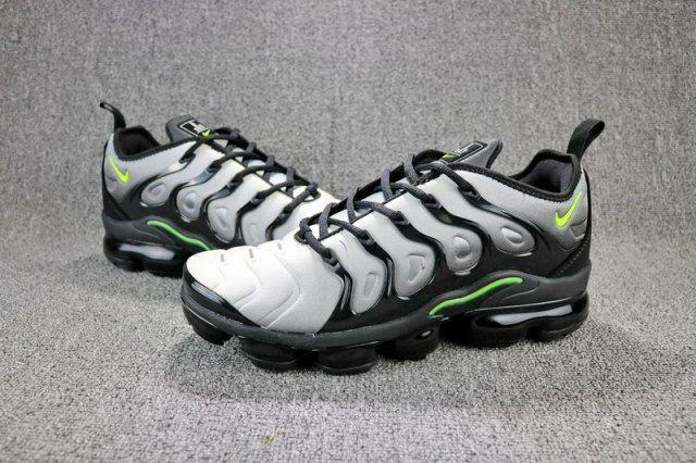 aa4581a872d1d Nike Air VaporMax Plus Men s women s Running Shoes Grey green -  NikeMaxZone.com