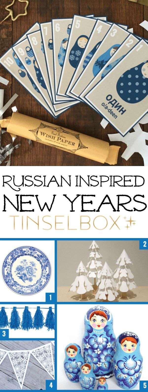 Create a Russian Inspired New Years.