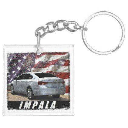 2014 Impala LS Keychain - individual customized designs custom gift ideas diy