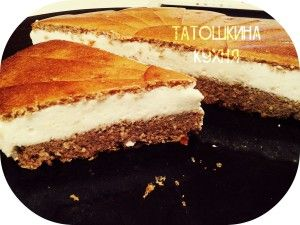 Торт-пирожное а-ля «Kinder pingui»