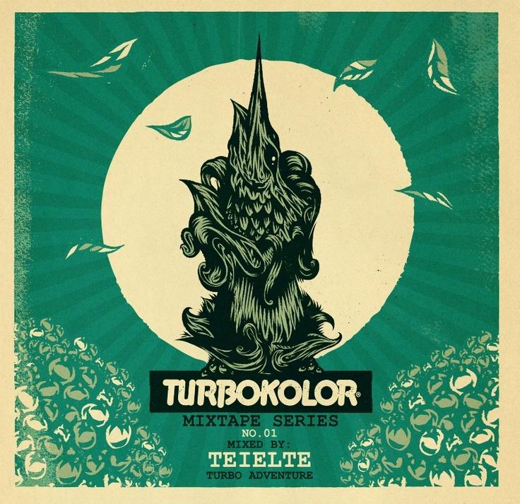 TURBOKOLOR Mixtape #1 - Teielte /// http://www.turbokolor.com