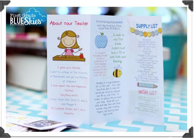 Best 25+ Open house brochure ideas on Pinterest Back to school - sample preschool brochure